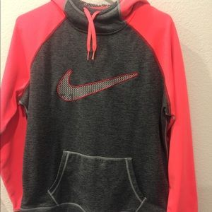 Women's NIKE hoodie size LG, Therma-Fit